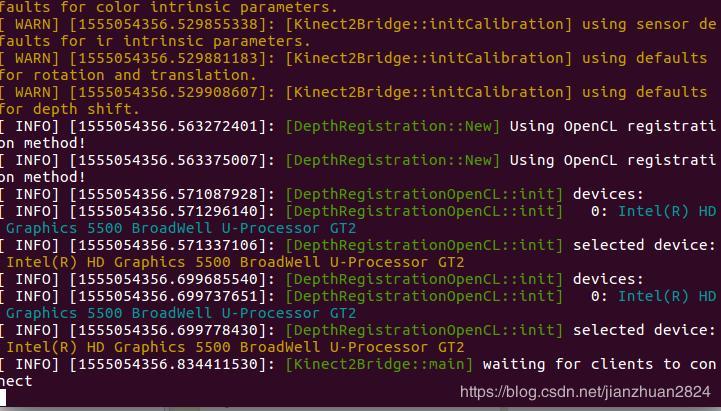 Under ubuntu16 04 drive Kinect v2 +ROS to run - Programmer