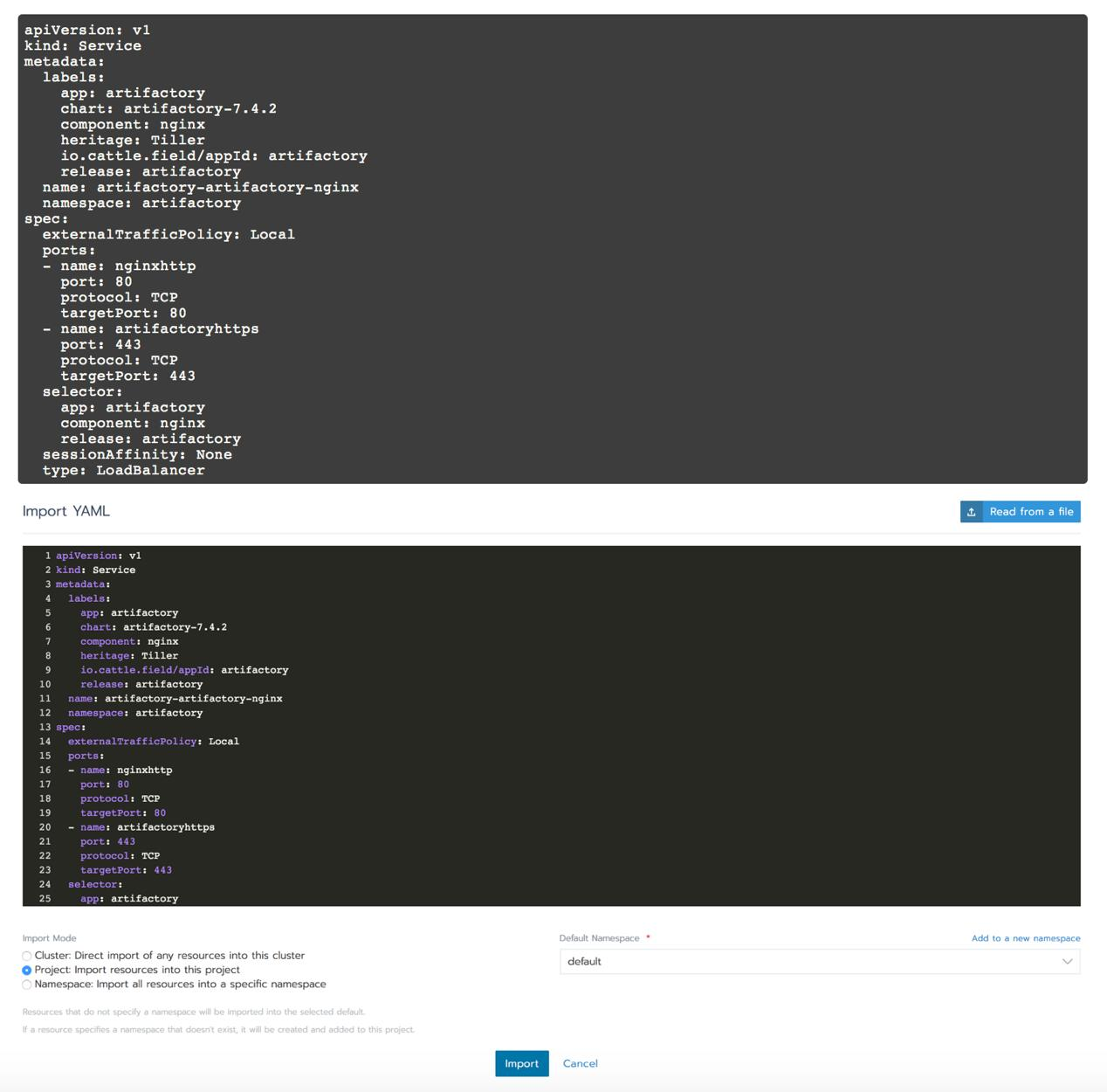 Deploy and manage JFrog Artifactory on Kubernetes clusters