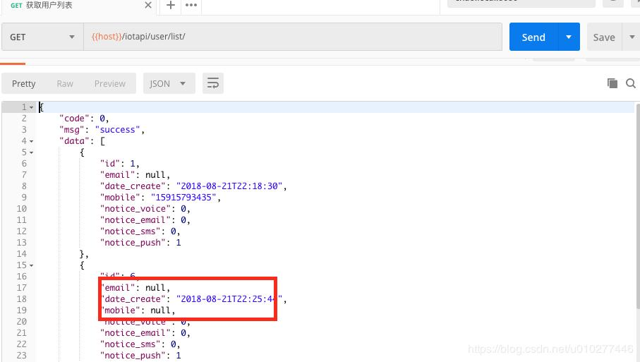 Django custom serialization returns processing data to null