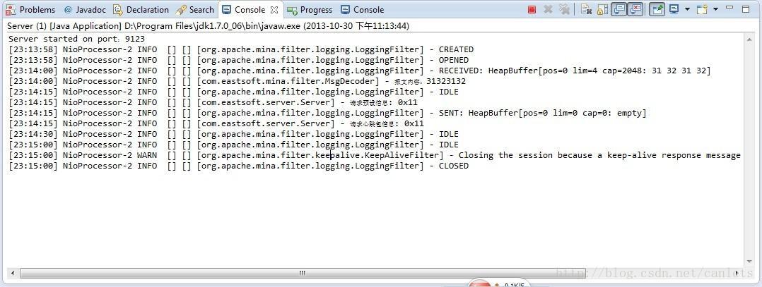 Mina heartbeat mechanism - Programmer Sought