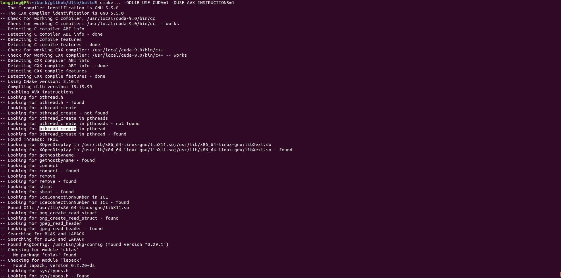 Dlib CUDA acceleration - Programmer Sought