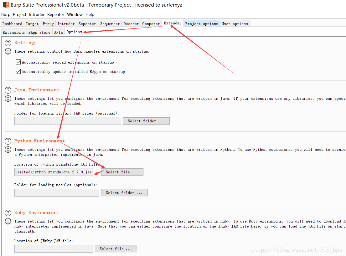The burpsuite plugin uses one - Programmer Sought