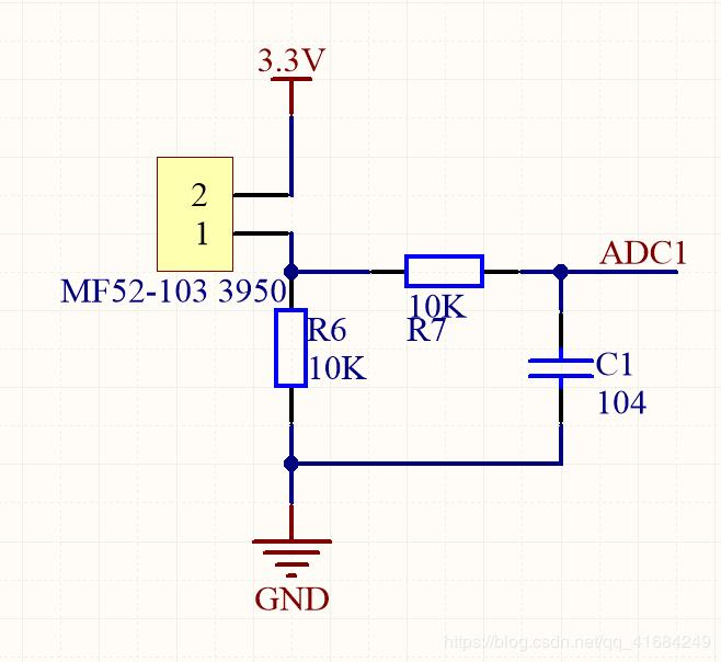 NTC thermistor temperature calculation and C language