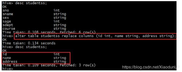 Hive basic operation ---DDL - Programmer Sought