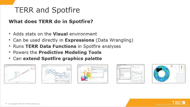 Advanced Analysis Capabilities of TIBCO Spotfire