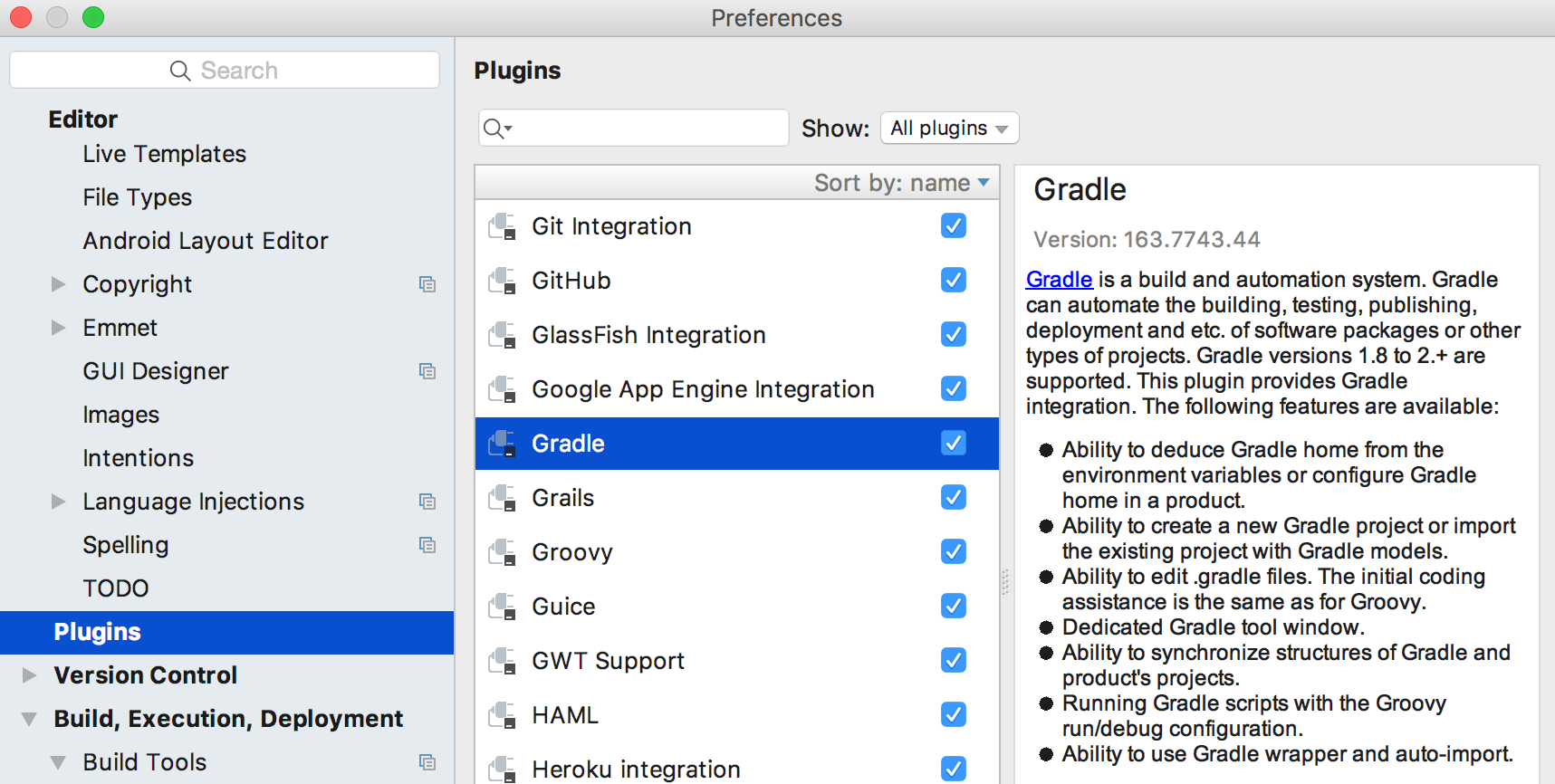 Use Gradle to develop plugins - Programmer Sought