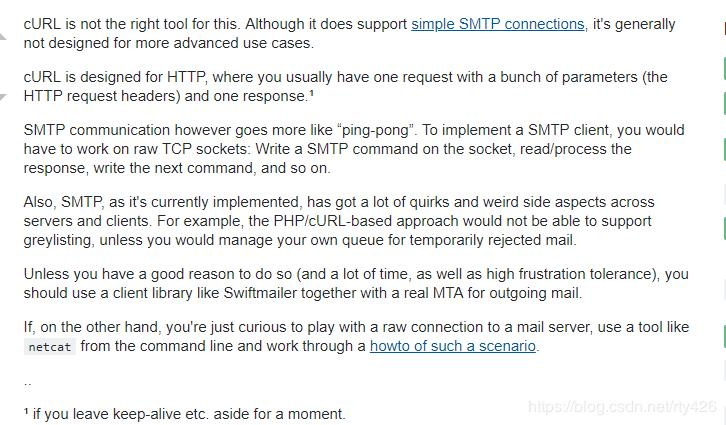 PHP uses the socks5 proxy to send mail - Programmer Sought