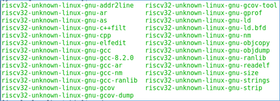 Riscv various versions of gcc toolchain compilation and installation