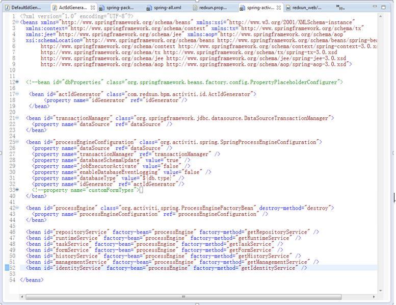 Integrated activiti online process designer (ACTIVITI