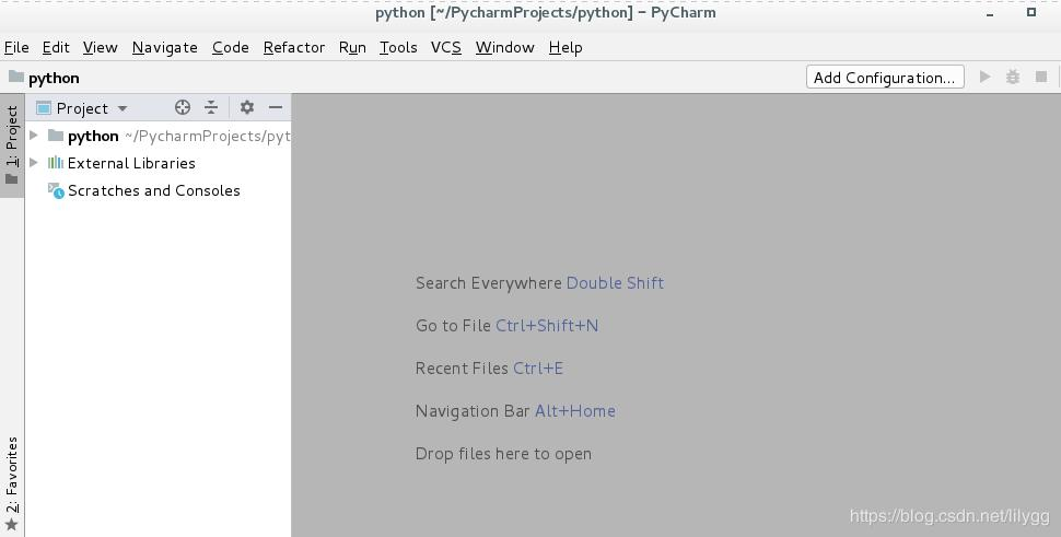 Python source code compilation and installation and Pycharm