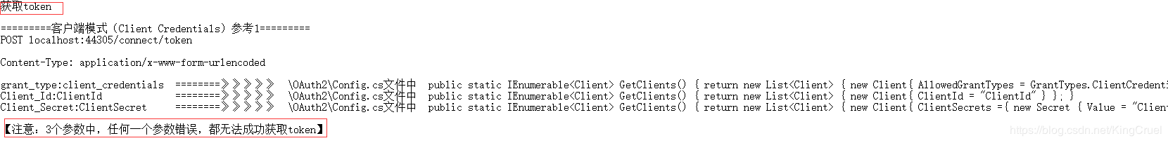 NET Core OAuth IdentityServer4 Token - Programmer Sought