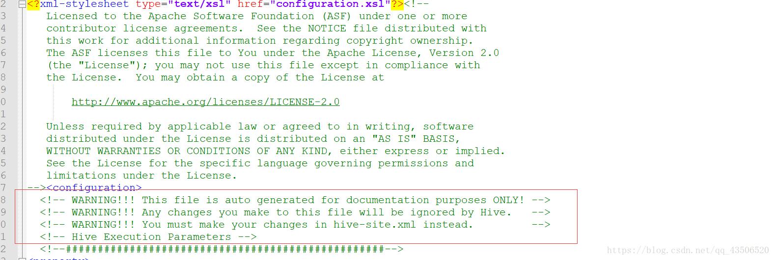 Hive initialization mysql database failed reason - Programmer Sought