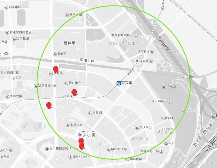 MongoDB LBS latitude and longitude query operation
