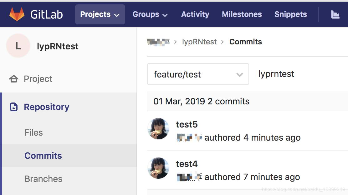 Use slint and pre-commit on vue and react native projects