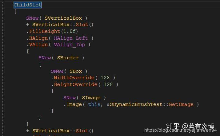 Slate VS UMG (the basic framework of the Slate control) - Programmer