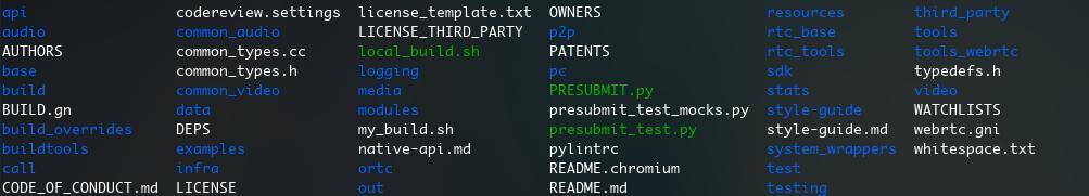 WebRTC SDK API package (2) - Linux / macOS platform