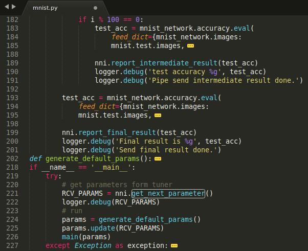 Microsoft open source automatic machine learning tool – NNI