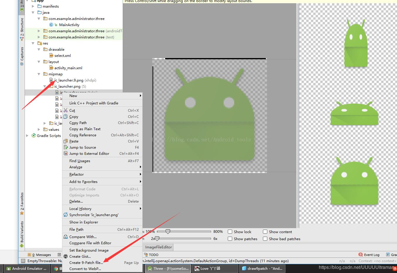 Android learning - animation and graphics (canvas and