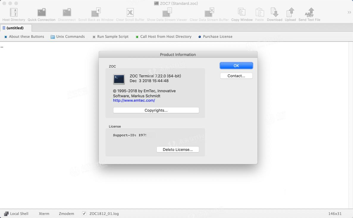 ZOC7 for Mac crack version activation method with