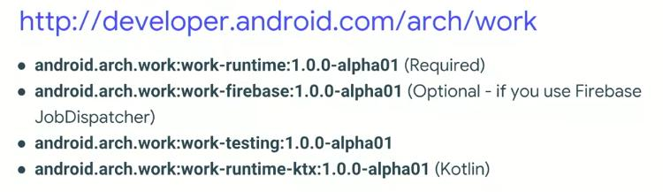 Android Jetpack - Handling simple background tasks with