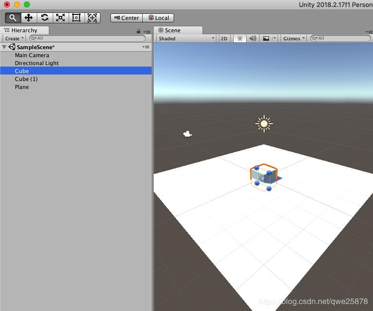 Everyone can write game series (a) Unity simple jump game