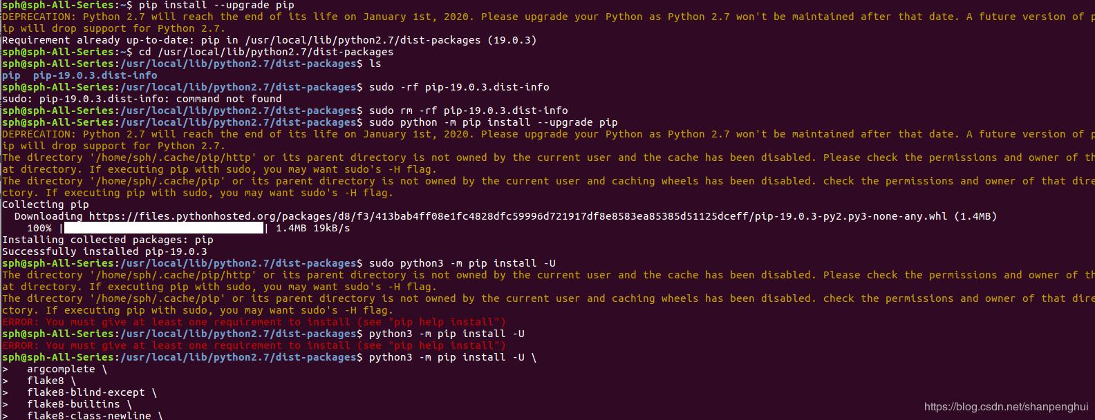 Fix 'python -m pip install --upgrade pip' - Programmer Sought
