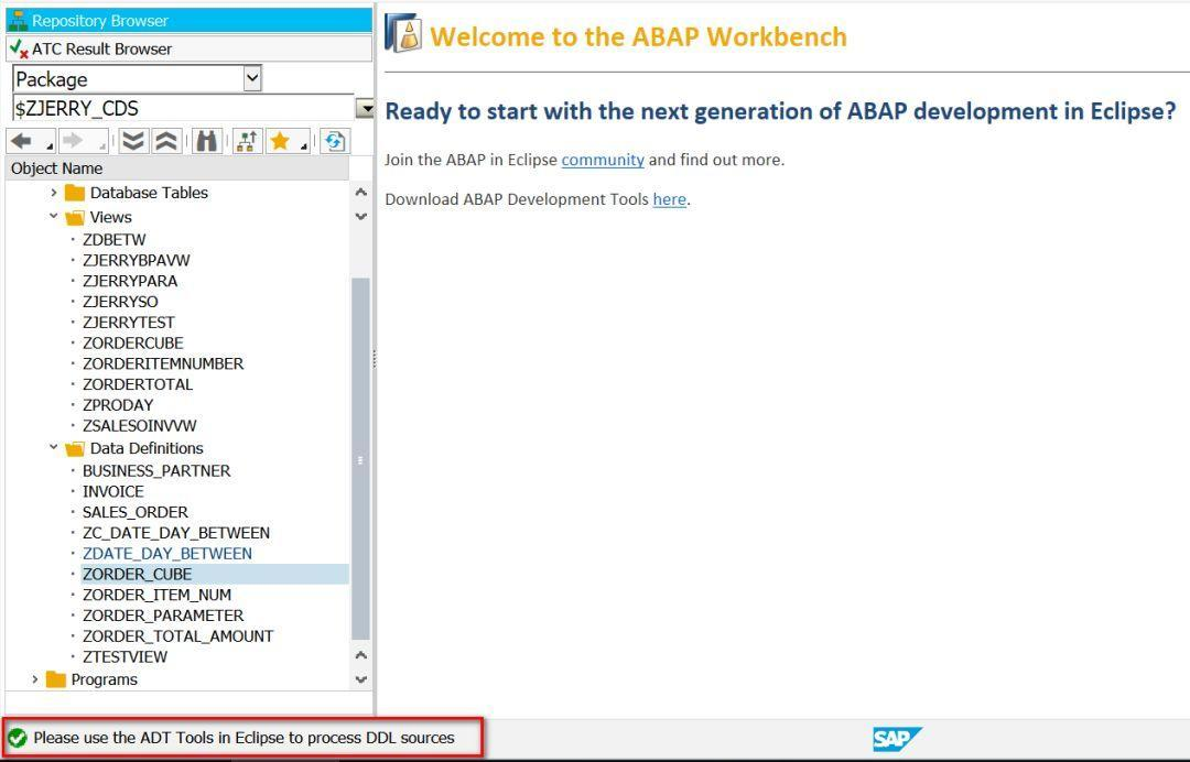 Don't like the SAP GUI? Then try using Eclipse for ABAP