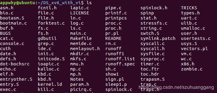 Xv6 when running qemu : no bootable device - Programmer Sought