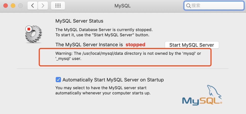 Mysql Server Not Starting Mac