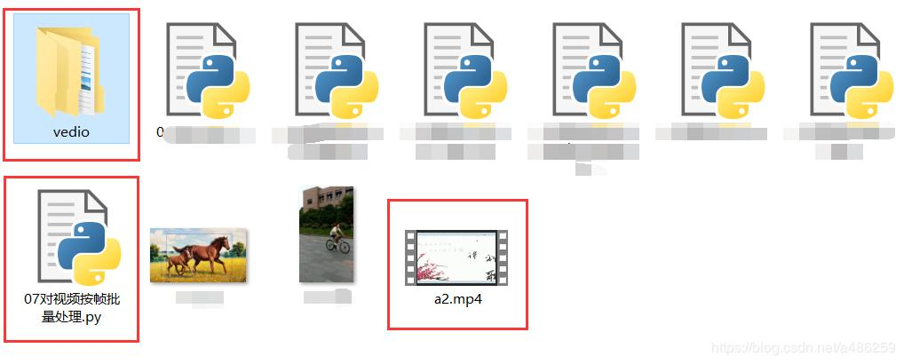 Python uses opencv to extract images from video by frame