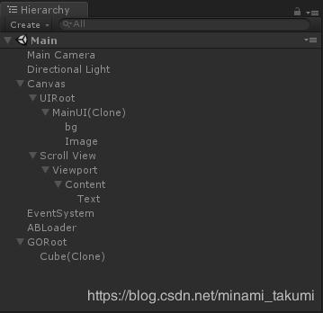Sunset 20181108002 - Unity packaged AssetBundle simple example