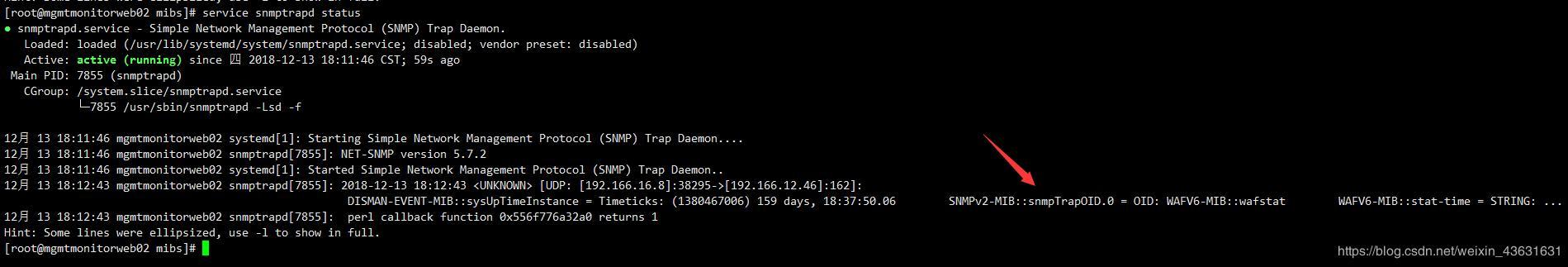 Zabbix-SNMP trap] An example of using Zabbix's SNMP trap