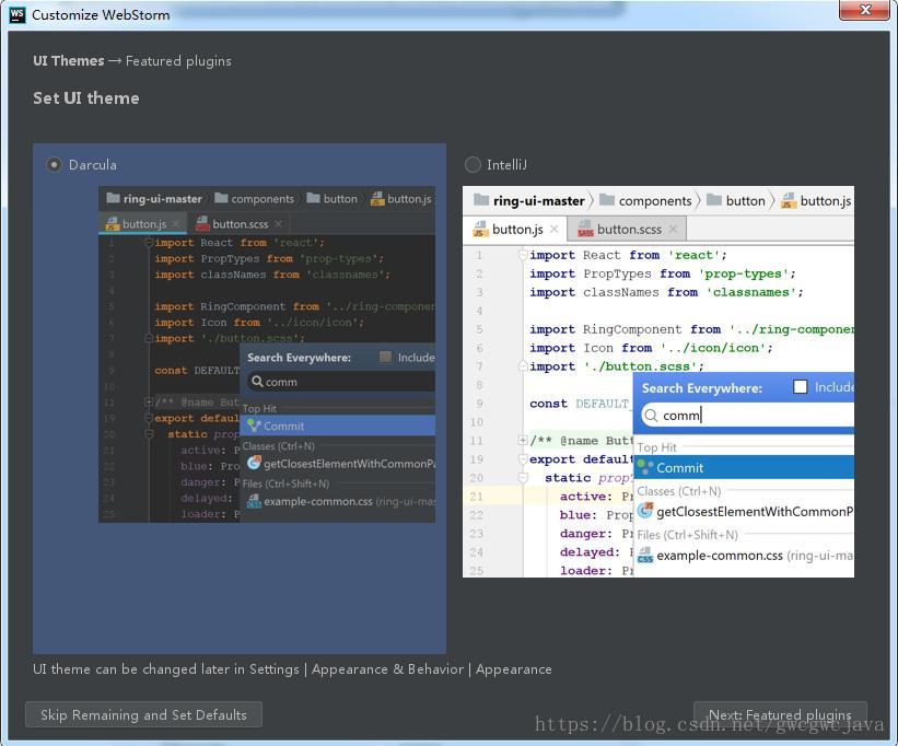 Windows environment to build Vue development environment