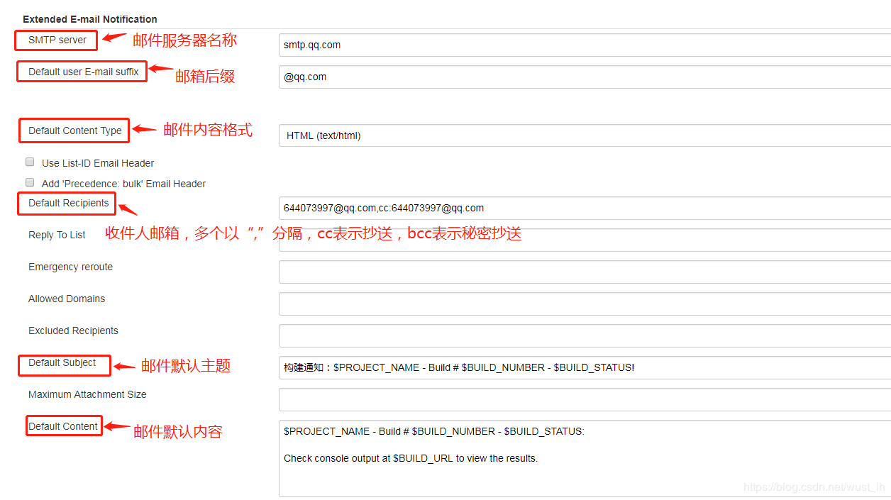 Send Mail By Jenkins Plugin Email Extension Plugin Take Qq Mailbox As An Example Programmer Sought