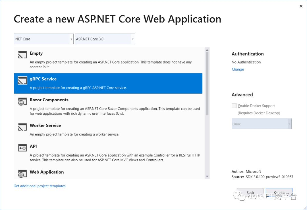 Updates on ASP NET Core in  NET Core 3 0 Preview 3