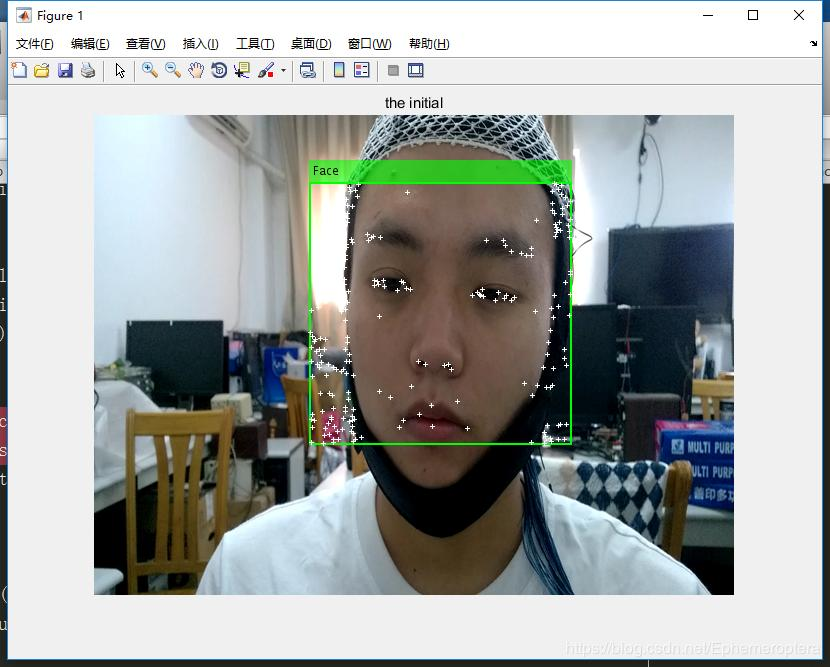 Implemented with MATLAB and opencv respectively: KLT target tracking