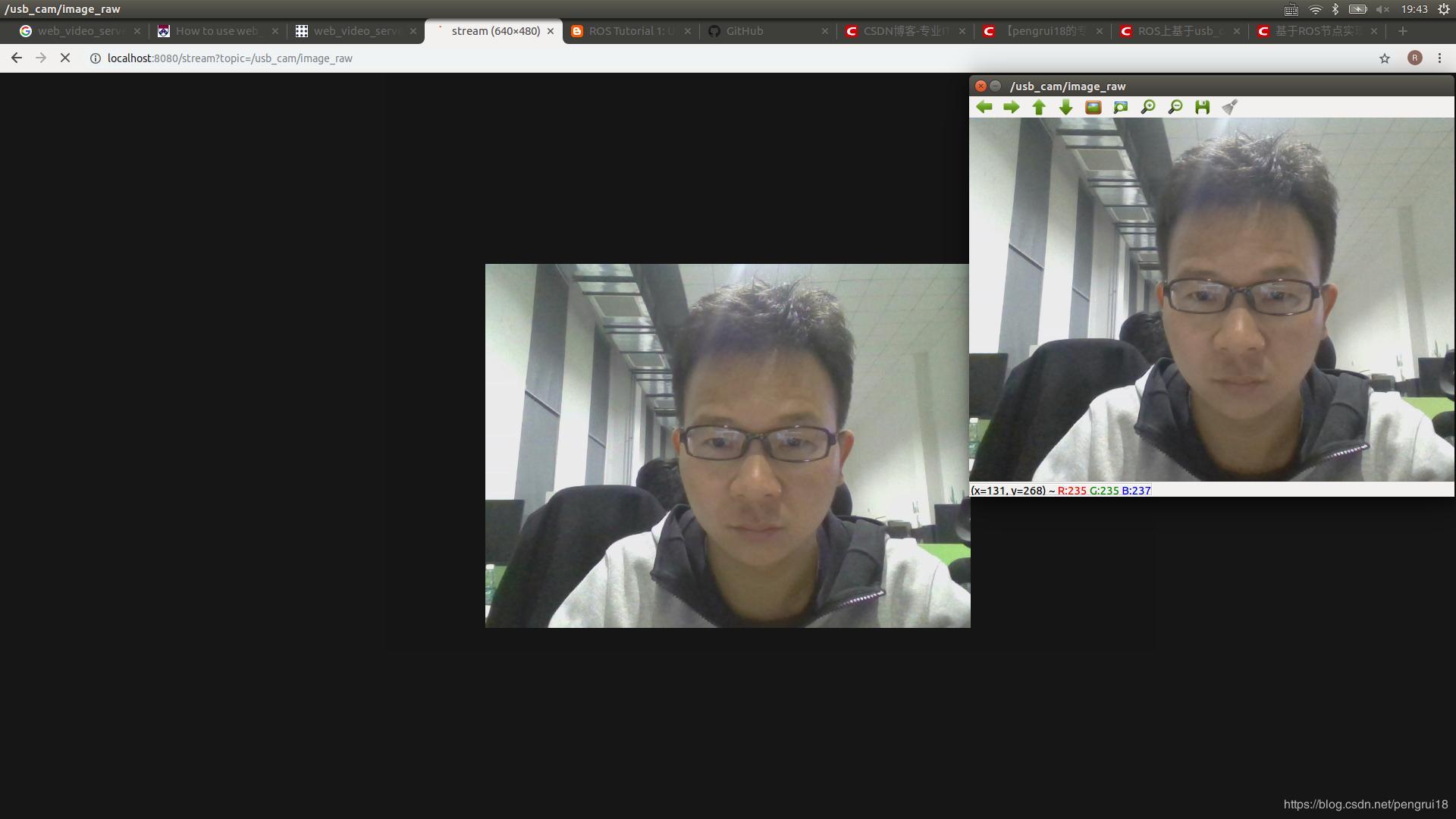 USB camera based on ROS node for web display - Programmer Sought