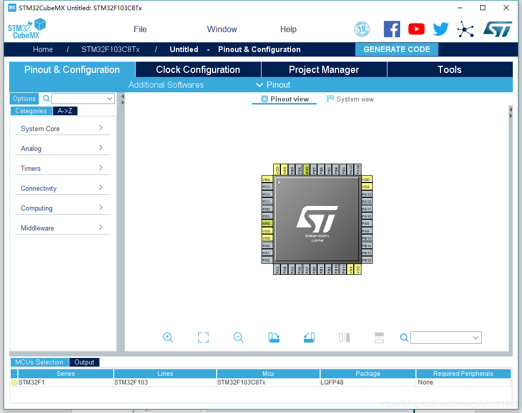 STM32 Basic Series Tutorial 1- CubeMX+GPIO - Programmer Sought