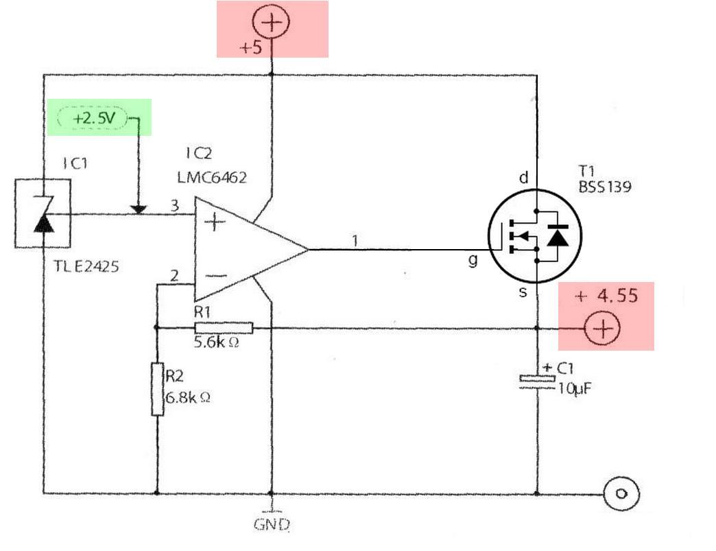 OpAmp Voltage Follower/Regulator   Programmer Sought