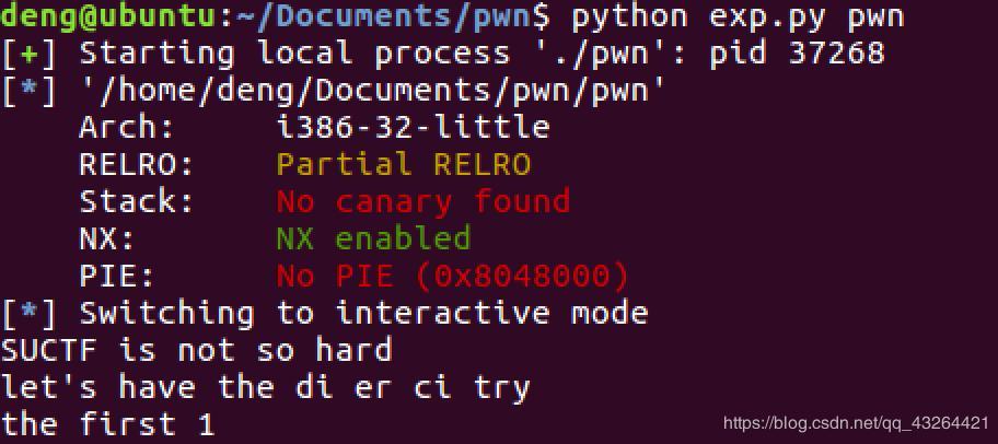 Tamevic's Ctf-Pwn writeup@software 'experiment 2pwn' - Programmer Sought