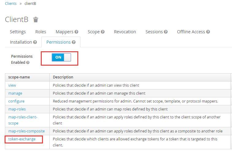 Aud change of keycloak token exchange (user unchanged, client