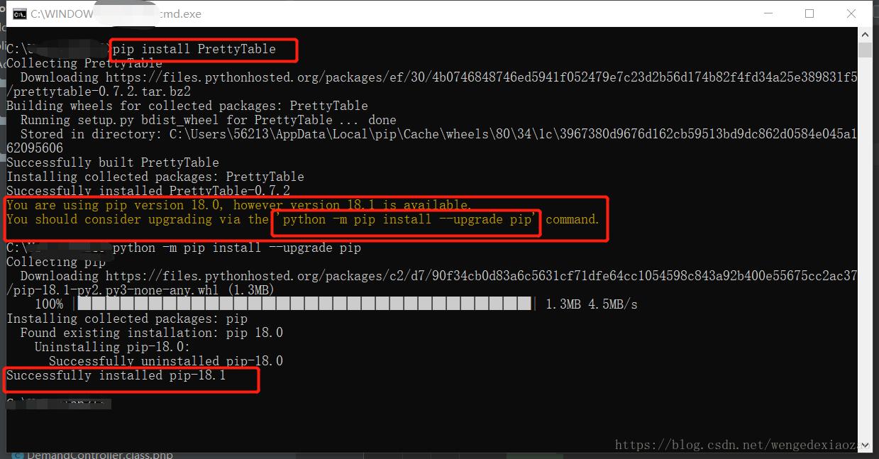 No module named 'prettytable', python3 installs prettytable