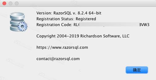 RazorSQL Mac (SQL Database Query Tool) with activation code