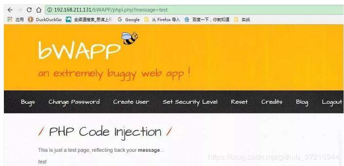 bWAPP / A1 - Injection / - Programmer Sought