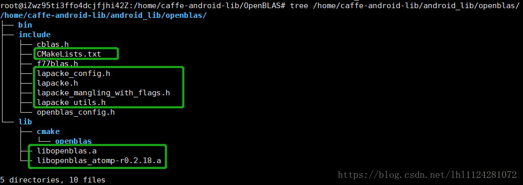 Compile GitHub open source project caffe-android-lib
