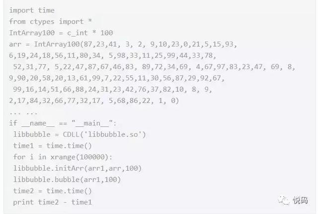 Python, C, C plus mixed programming applications take you
